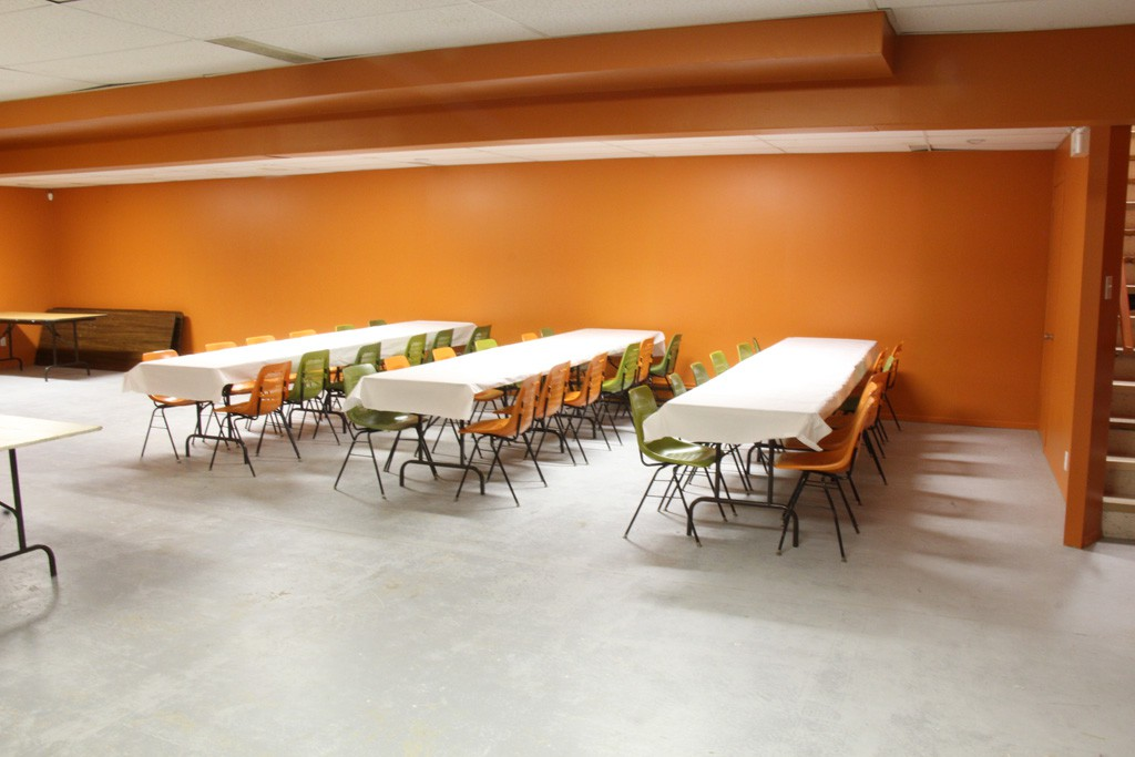 Salle au sous-sol