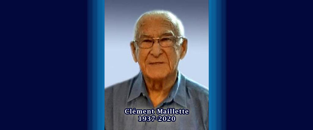 Décès de Clément Maillette