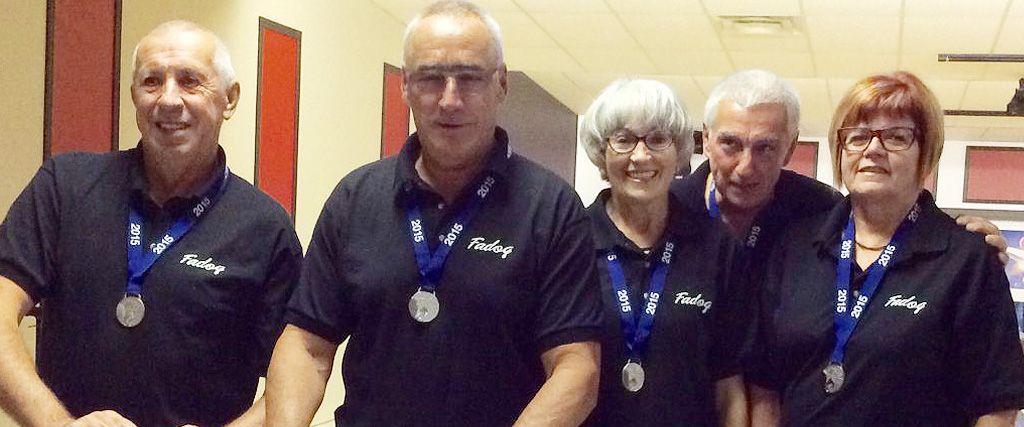 Médaille d'argent pour l'équipe de Lise Marcotte