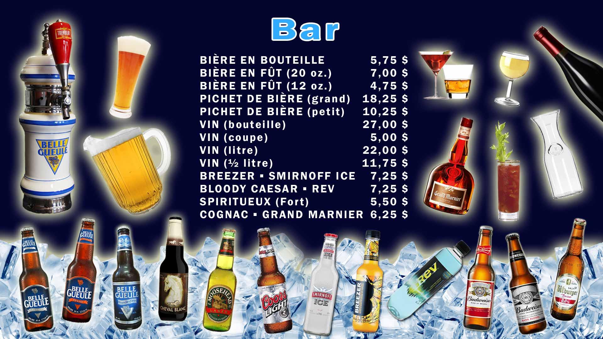Bar Quilles St-Grégoire
